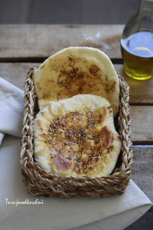 Chleb z patelni z zahterem