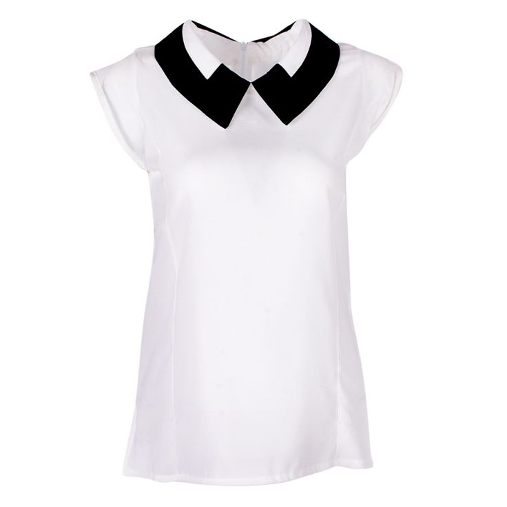 2017 Candy Color Women Summer Loose Chiffon OL blouses Vest Tops Blouse camisa feminina Plus Size Blouse 7644