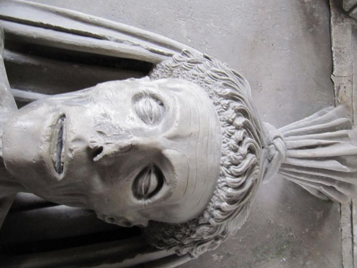 Picture of This carved cadaver memorializes John Fitzalan, a nobleman who died in approximately 1453