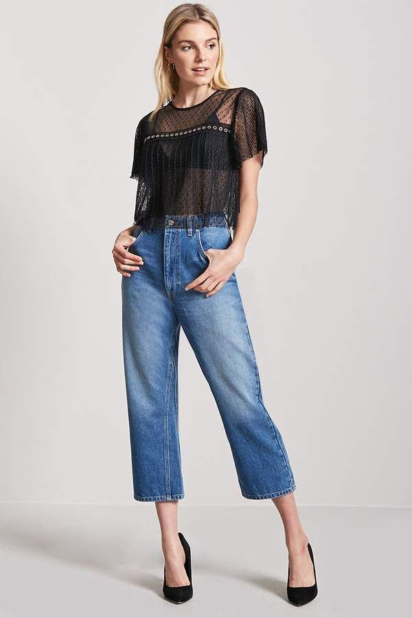c20d6b7292 Forever 21 Sheer Accordion Pleat Top | Beauty Style | Fashion ...