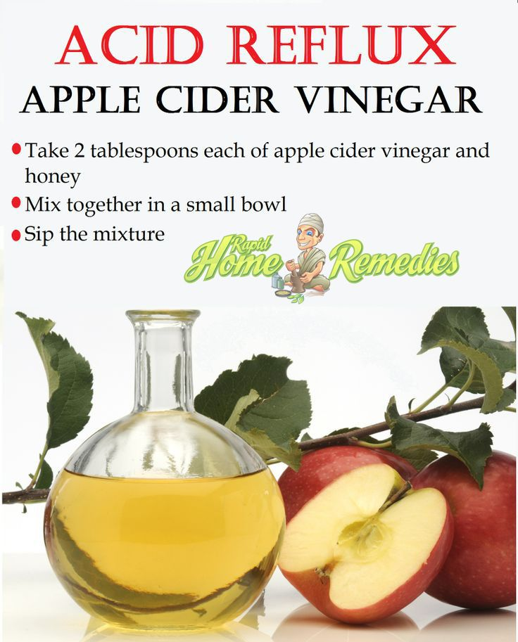 Apple cider vinegar for acid reflux - RefluxMD
