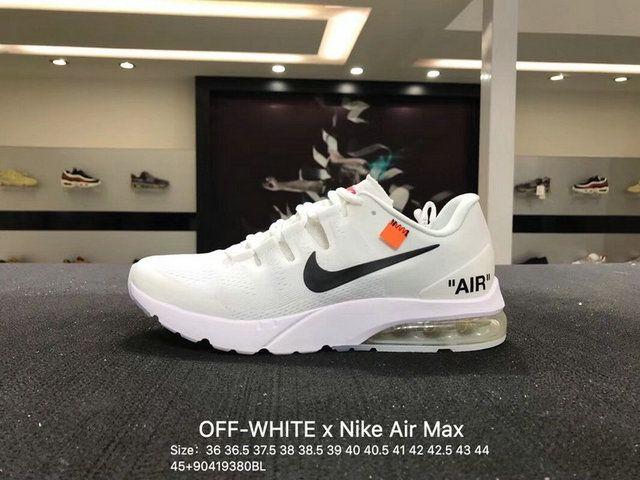 Unisex Off White X Nike Air Max