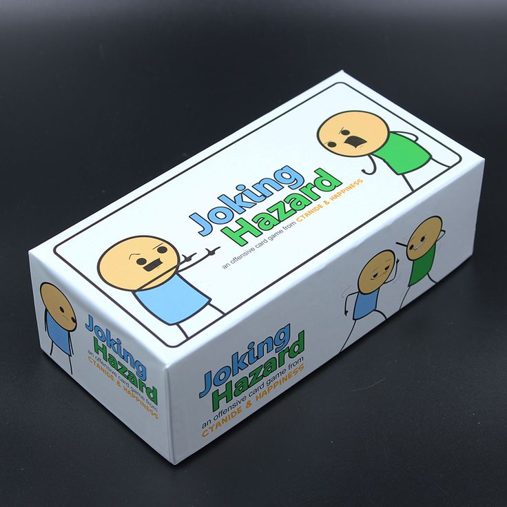 2017 Hot Funny Card Game Joking Hazard 360 Cards Party Game Kuso Multiplayer Game For Adults With Retail Box Comic Strips Card