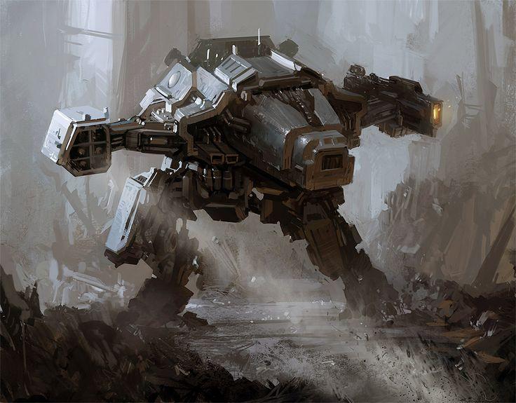 concept robots: Concept robotic machines by Daniel Xiao