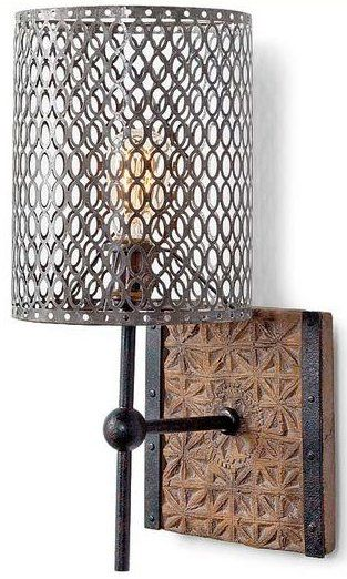 Regina Andrew Design 44-7702 Artifact Transitional Wall Sconce RAD-44-7702