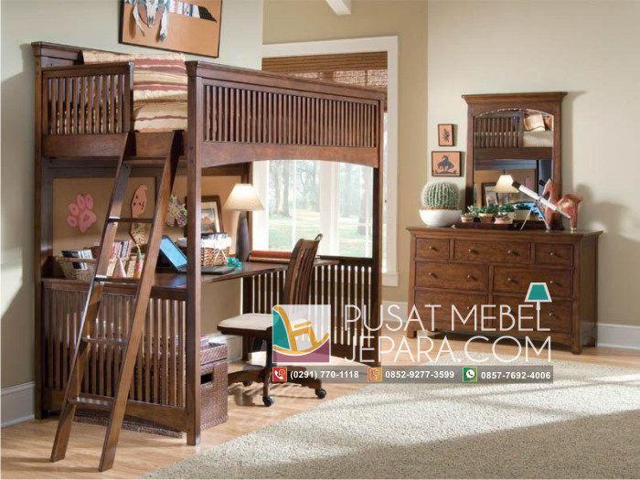 tempat-tidur-anak-dan-meja-belajar-minimallis