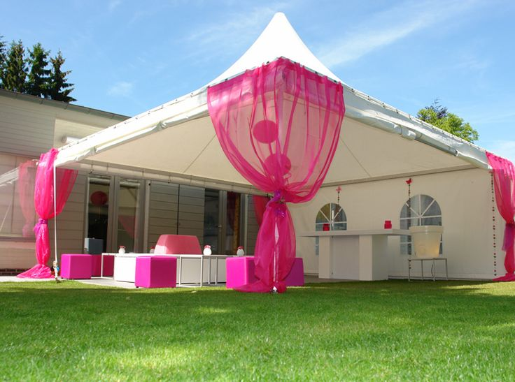 Decoratie tent