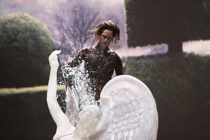 "EDWARD SCISSORHANDS (2005) ""Ice Sculpture Duet"": Featuring Kerry Biggin and Dominic North"