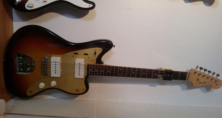 1958 Fender Jazzmaster Sunburst > Guitars Electric Solid Body | Greenwood Vintage Guitars
