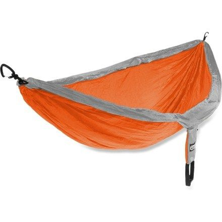 Because who doesn't love napping in nature? Check out the ENO DoubleNest Hammock
