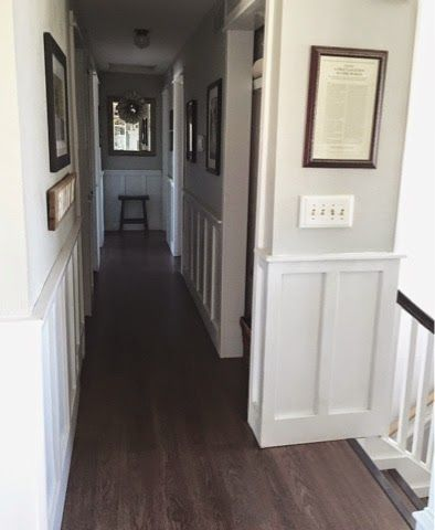 Keep home simple our split level fixer upper split for Bi level foyer ideas