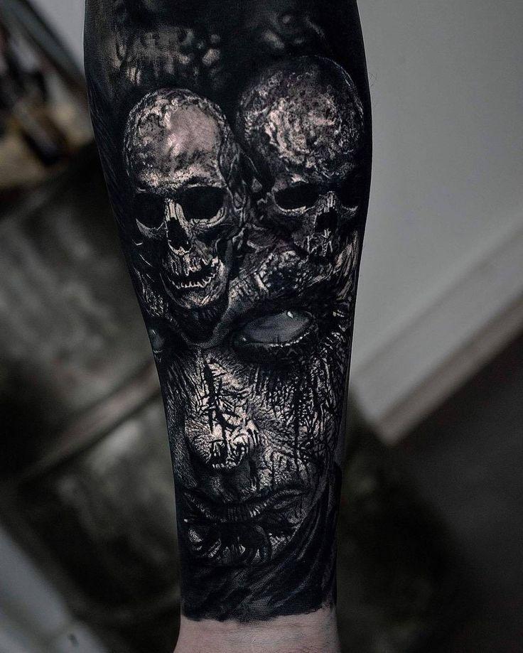 Horrorgalerie von Sandry Riffard – coole Tattoos – #Coole #Horrorgalerie #Riffard #Sandry #Tattoos