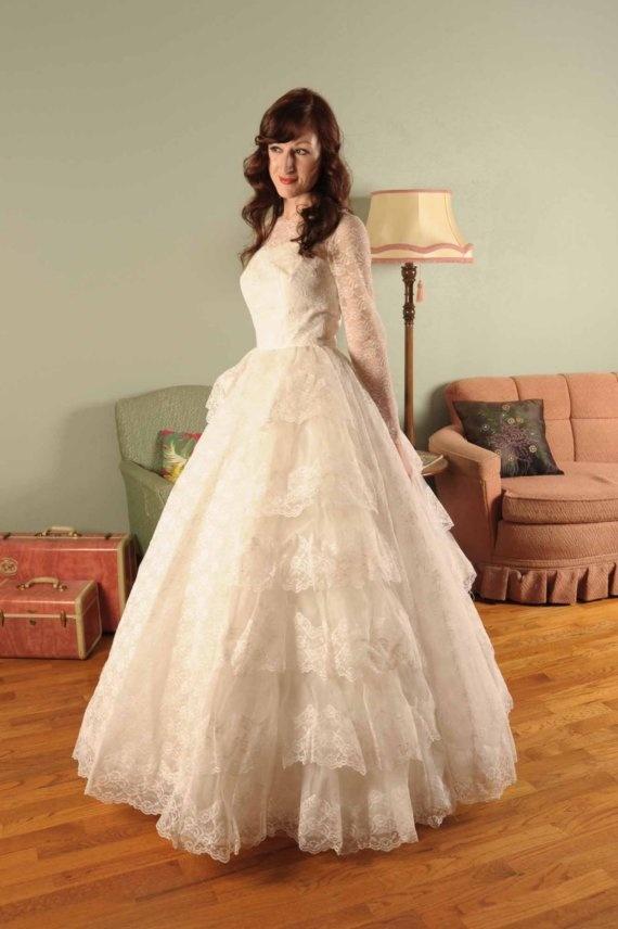 The 187 best wedding--vintage wedding dresses images on Pinterest ...