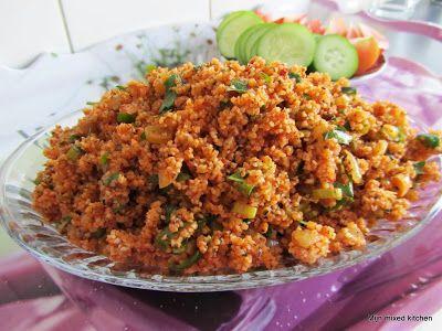 Kısır (Turkse bulgursalade) #bulgur #Turkseten #Turkishfood