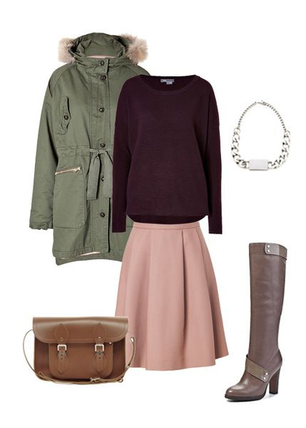 http://www.sofits.me/look/2606  Karina is a student and everyday she drives to another city for her studying. So, we proposed her to try this outfit: ladylike but discreet.  #TaraJarmon #Vince #DinoRicci #Nicholas #CambridgeSatchel #look4like #sofitsme