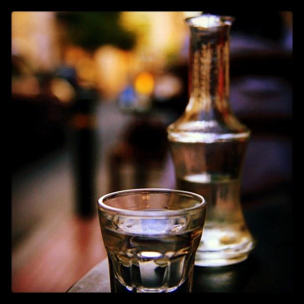 Ρακοκατάσταση! Raki - Cretan traditional product. (drink)