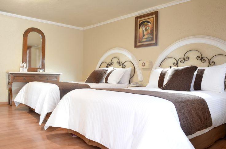Hab.Doble Hotel Misión Arcangel Puebla