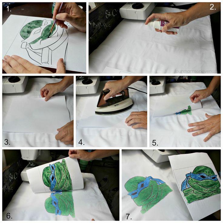 Ink Transfer Process