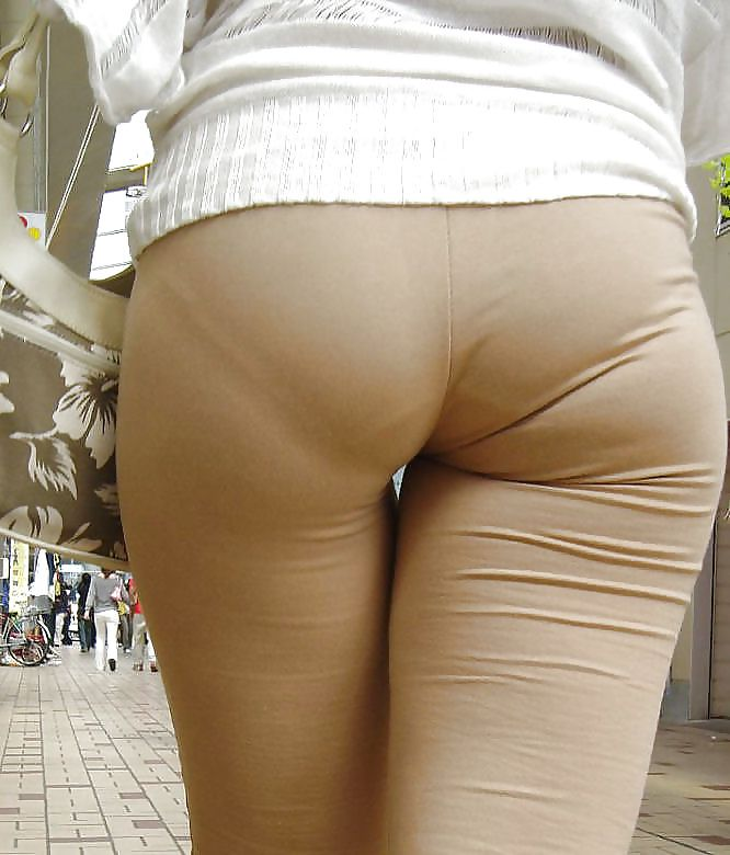 Asian See Thru Spandex Full Panty Vpl