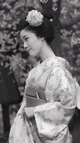 Maiko... I am fascinated by geisha and kimono