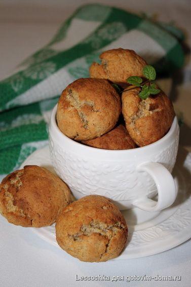 Овсяное печенье с медом