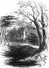 Bleak House (frontispiece) by Charles Dickens (1852).
