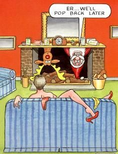 Christmas Humor: Santa, Please Come Back Later...