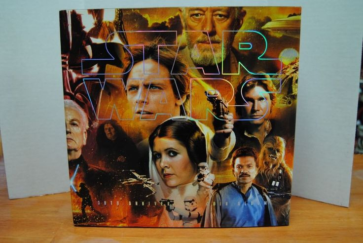 Star Wars 30th Anniversary Coin Collection Album 2006 Hasbro