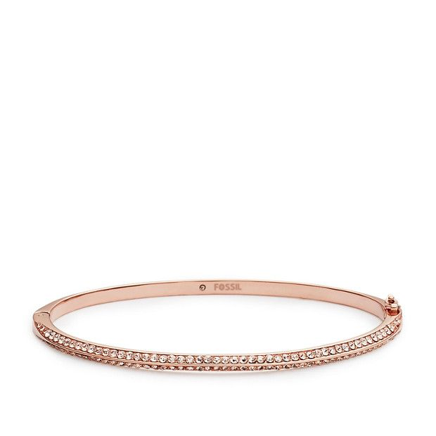 Oval Pavé Bangle.. ~ Have this now. Simple and lovely.