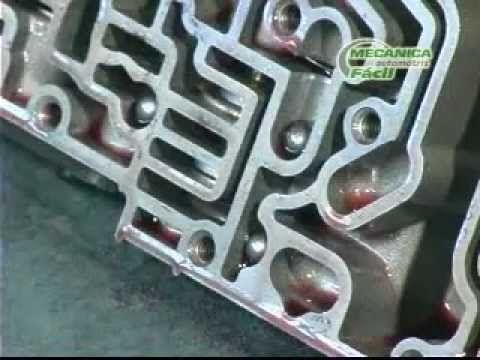 Reparación transmisión automática 2 (armado y mont