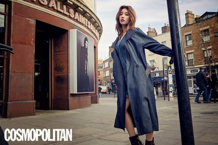 Suzy Bae miss A - Cosmopolitan Magazine April Issue 2015