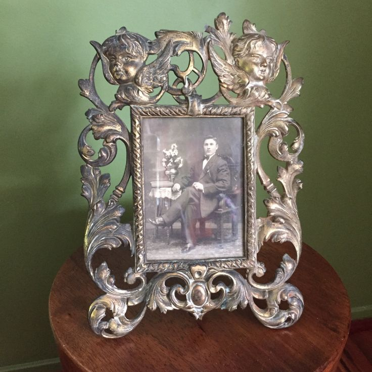 Vintage Victorian Photo/Picture Frame by VintageVixens1 on Etsy