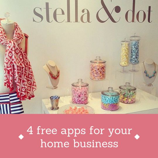 TIPS FOR STYLISTS: 4 free apps to streamline your home business // New blog post on 'a stylist's scribbles' - a blog just for Stella & Dot stylists!