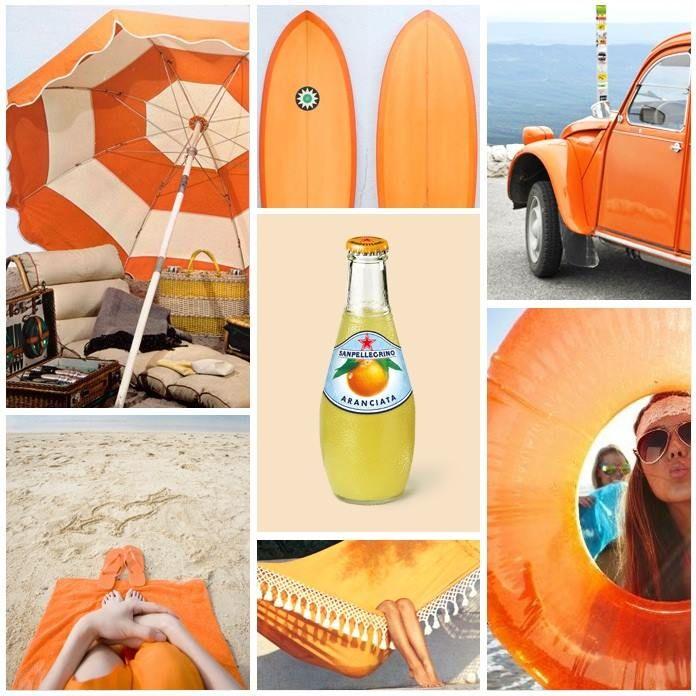 sape orange shweshwe moodboard - 696×696