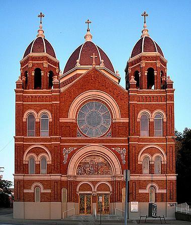 St. Nicholas Catholic Church, Zanesville, OH. Photo: Dania Hurley Flickr