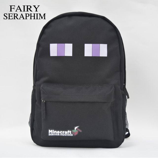 Promotion price FAIRY SERAPHIM HOT high quality teenager student school bag preppy style kid fashion mochila minecraft game creeper backpack just only $17.50 with free shipping worldwide  #backpacksformen Plese click on picture to see our special price for you