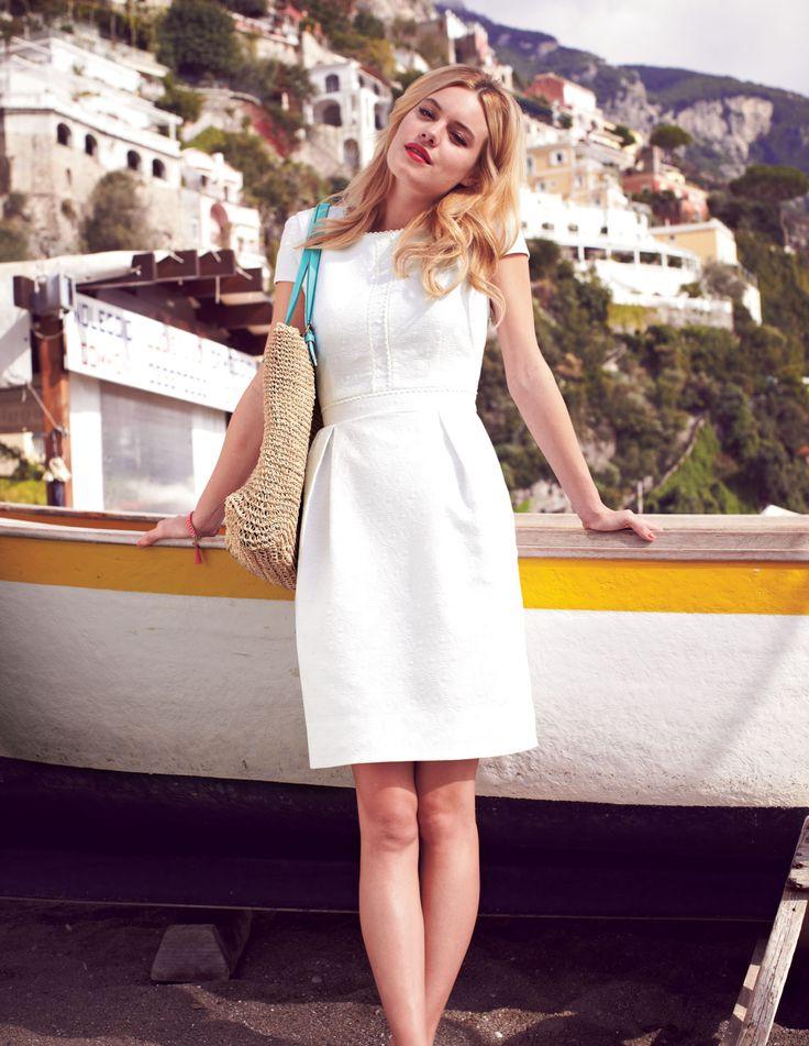 lovely white summer dress!