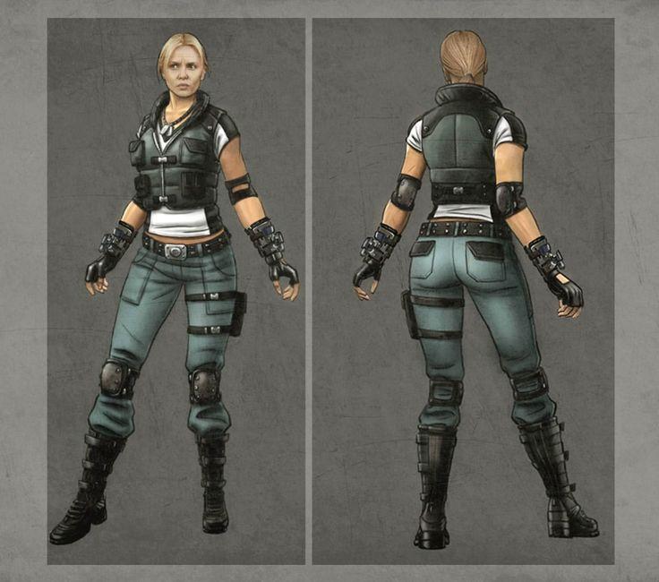 Tournament Sonya Blade Concept