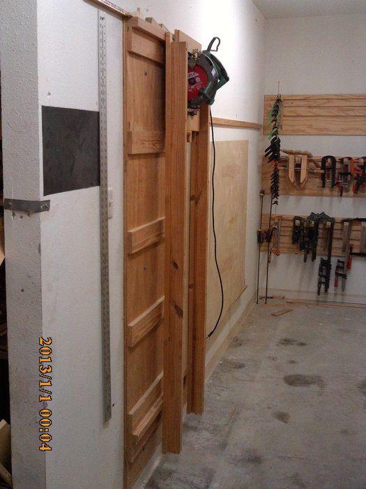 Wall Mounted Panel Saw - by vrice @ LumberJocks.com ~ woodworking community
