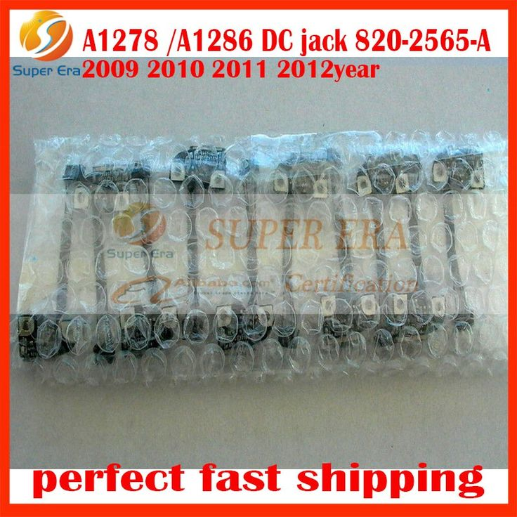 10pcs/lot for macbook pro 13'' 15'' A1278 A1286 2009-2012year 820-2565-A DC in jack power board cable perfect testing