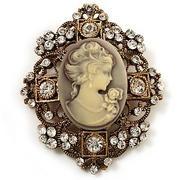 vintage cameo: Filigr Cameo, Gold Finish, Vintage Brooches, Vintage Cameo, Cameo Jewelry, Cameo Vintage, Brooches Antiques, Antiques Gold, Cameo Brooches