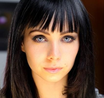 Ksenia Solo~lost girl awesome eyes, needs a new hair style, and she would be beautiful