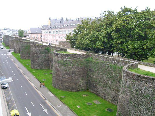 Lugo- Roman walled city