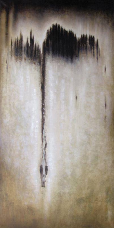 Metamorphoses - Oil on linen - 201x101 cm - 2011 - Alessio Pierro