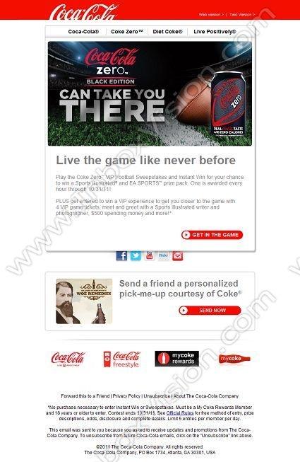 Best Email Design Coca ColaPepsi Images On
