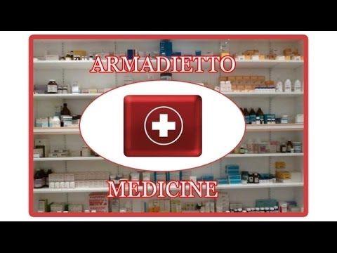 Organizzare l'armadietto dei medicinali - YouTube