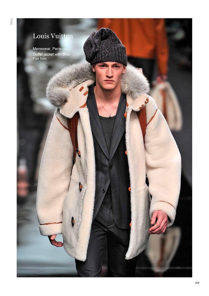 Saga Furs Men lookbook A/W 2013-14
