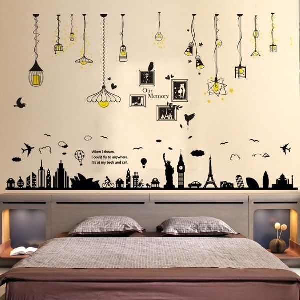 trendy wall decals in 2020 wall painting decor creative on wall stickers painting id=53721
