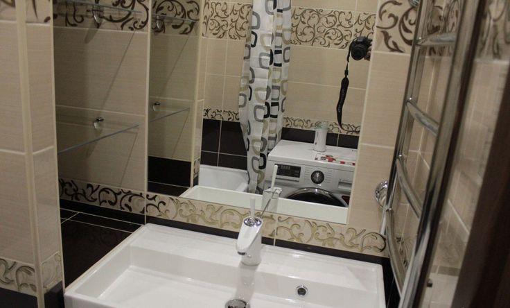 Ванная и туалет в панельном доме 121 серии