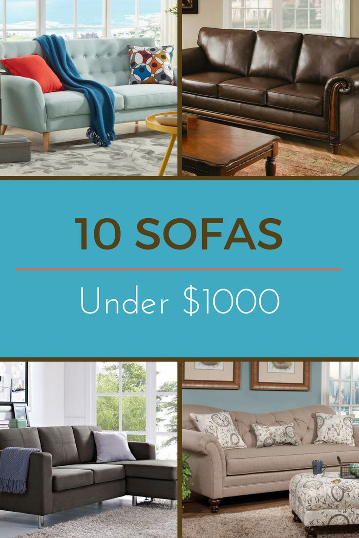 Editorsu0027 Picks 10 Favorite Sofas Under 1000